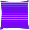 Snoogg Horizontal Lining Pattern Design 2086 Throw Pillows 16 X 16 Inch Cushions Cover - Pack Of 1