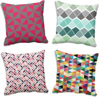 MeSleep Abstract Cushions Cover (Pack Of 4, 50.8 Cm*50.8 Cm, Multicolor) - CPCE7EQZY4MJYU4T