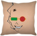 STYBUZZ Man With Glasses Cushion Cushions Cover - CPCDWR74SSZH9UA6