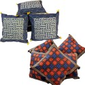 Jaipur Raga Rajasthani Traditional Designs Cushions Cover - Pack Of 10 - CPCDQZJPYF4FFUBR