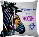 Tiedribbons Welcome To Our Home Gifts For Wife Cushion Cover - Pack Of 1