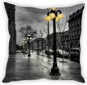 StyBuzz Old London Street Lights Cushion Cover Cushions Cover - Pack Of 1