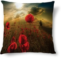 Amy Pretty Red Rose Abstract Cushions Cover (40.64 Cm*40.64 Cm)