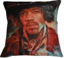 Belkado Digital Print Jimi Hendrix Cushions Cover - Pack Of 1