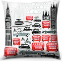 Calmistry London City Cushions Cover - Pack Of 1