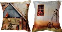 Belkado Digital Print - Combo Of Vintage Collection Cushions Cover - Pack Of 2
