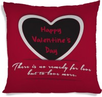 ShopMantra No Remedy For Love Valentine's Day Printed Cushions Cover (40.64 Cm*40.64 Cm)