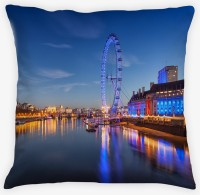 Amore London Eye Cushions Cover (Pack Of 1)