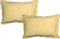 JBG Home Store Plain Pillows Cover (Pack Of 2, 38 Cm, Beige)