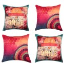 "SEJ By Nisha Gupta HD Digital Print Silk 16"" By 16"" Cushion Cover. Cushions Cover - Pack Of 4 - CPCDYVZ5YSPXGW5J"