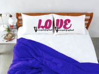 StyBuzz Printed Pillows Cover Pack Of 2, 68.58 Cm*45.72 Cm, Multicolor - CPCE7DKQMWSD8WQ4