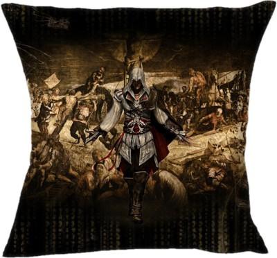 Shopkeeda Assassins Creed 2 My World Cushions Cover Pack of 1