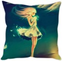 StyBuzz Sad Girl Art Cushion Cushions Cover - CPCDWR74P6AFFX3G