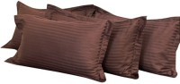 Mark Home Plain Pillows Cover Pack Of 4, 68.58 Cm*45.72 Cm, Brown