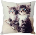 StyBuzz Blue Eyed Kittens Cushion Cushions Cover - CPCDWR74HEM6KXMD