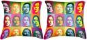 Belkado Digital Print - Pair Of John Lenin Cushions Cover - Pack Of 2
