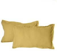Hothaat Striped Pillows Cover Pack Of 2, 30 Cm*20 Cm, Brown