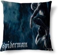 Amy Spider Man Rain Abstract Cushions Cover (40.64 Cm*40.64 Cm, Multicolor)