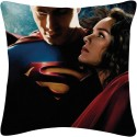 Amore Super Man 2 Cushions Cover - Pack Of 1