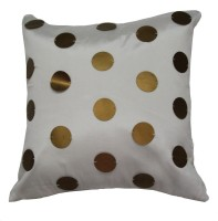 Homewards Self Design Cushions Cover (White)