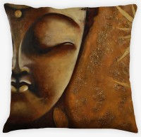 Amore Buddha 3 Cushions Cover (Pack Of 1)