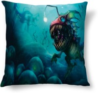 Amy Water Animal Dangerous Abstract Cushions Cover (40.64 Cm*40.64 Cm)