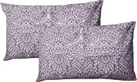 R Home Geometric Pillows Cover Pack Of 2, 70 Cm*45 Cm, Purple
