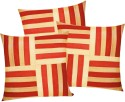 Zikrak Exim Cross Patti With Filler Cushions Cover - Pack Of 6