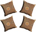 MeSleep Multi Paisely Cushions Cover - Pack Of 4