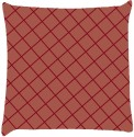 Snoogg Chequered Pattern Design 1713 Throw Pillows 16 X 16 Inch Cushions Cover - Pack Of 1