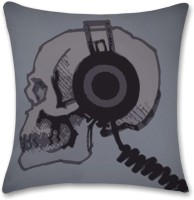 Shoprock Skull Headphones Abstract Cushions Cover (Cushion Pillow Cover, 40.64*40.64)