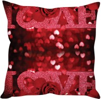 StyBuzz Updown Love Sparkle Text Cushions Cover (Pack Of 1)