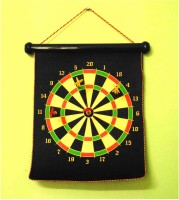 Velarudh Dual Sided Magnetic Dart Board With 4 Darts Convertible Tip Dart (Pack Of 1)
