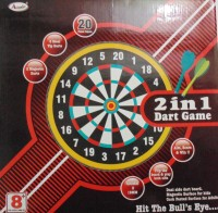 Annie 2 In 1 Dart Game Steel Tip Dart (Pack Of 1)