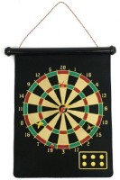 Cuddles Magnetic Roll-Up And Bullseye Game Steel Tip Dart (Pack Of 1)