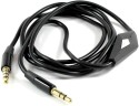 Lexel Auxiliary (Aux ) Cable With Microphone & On/Off Button 3.5mm To 3.5mm AUX Cable (Black)