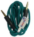GooDiT Thread Aux Cable AUX Cable (Blue)