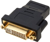 Storite Bi-Directional Dual Link Dvi-i Female To HDMI Male Plug Converter DVI Cable (Black)