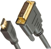 Wiretech DVI-D Male To HDMI Male Adapter DVI Cable (Black)
