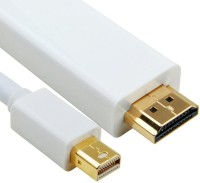 IConnect World 1.8m Mini Display Port HDMI Cable (White)
