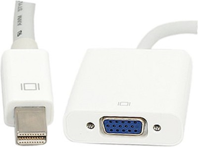 Iconnect World Gold Plated Mini DisplayPort (ThThunderboltTM Port Compatible to VGA Female Adapter