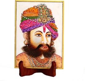 Aapno Rajasthan Stoneware Decorative Platter