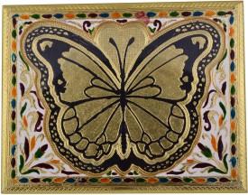 Jaipurikala Wooden Decorative Platter