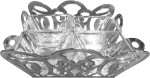 Treta Silver Decorative Platter