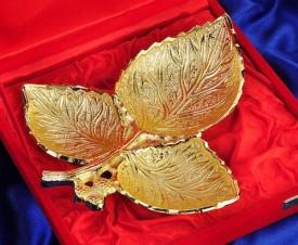 Being Nawab Brass Decorative Platter