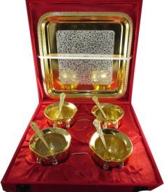 GoldGiftIdeas Gold Plated Decorative Platter