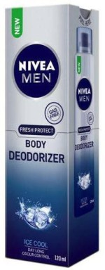 Nivea Sprays Nivea Fresh Protect Deodorizer Gas Free Ice Cool Body Spray For Men, Boys