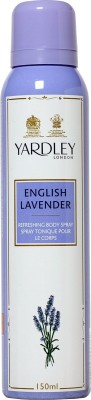 Buy Yardley English Lavender Deodorant Spray  -  150 ml: Deodorant