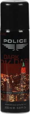 Buy Police Dark Deo Spray  -  200 ml: Deodorant