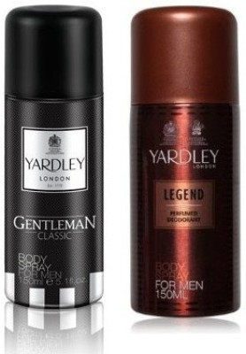 Yardley London Sprays Yardley London Gentleman & Legend Body Spray For Boys, Men
